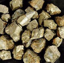 Golden Pyrite Natural Peru Mines 5000 Ct Rough Loose Gem @ Lot 3 Sapphire Free