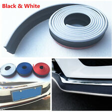 2.5M Car Front Bumper Skirts Lip Spoiler Body Protector Rubber Strip Car Styling