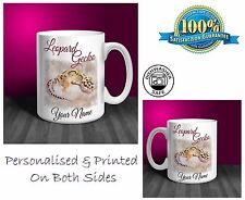 Leopard Gecko Personalised Ceramic Mug: Perfect Gift. (P006)