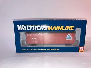 HO Scale Walthers Mainline 50' FGE Insulated Boxcar Bangor 9080 910-2043 Box Car