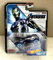 2019 Hot Wheels Marvel AVENGERS Character Cars RESCUE First Appearance 1:64 NEW