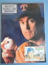 NOLAN RYAN TEXAS RANGERS BECKETT MONTHLY ISSUE #69 1990 MLB BASEBALL NO LABELS