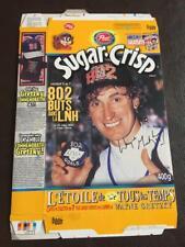 1999 Wayne Gretzky Canada Post Cereal Commemerative 802 Goals Rare