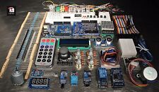 UNO R3 Starter Kit for Arduino Beginner w/ LCD Motor Relay Servo RTC Remote