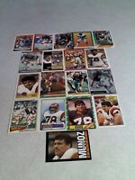 *****Anthony Munoz*****  Lot of 85+ cards.....43 DIFFERENT / Football