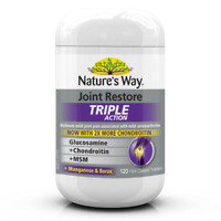 Nature's Way Joint Restore Triple Action 120 Tablets Arthritis Natures Way