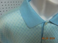 CALLAWAY GOLF COLLECTION SHIRT MENS SIZE LARGE Blue POLO CLUBS