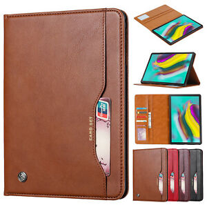 For Samsung Galaxy Tab A 8.0 T290 T295 2019 Case Flip Leather Stand Wallet Cover