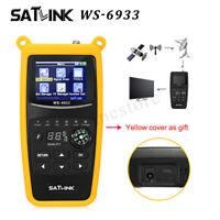 Satlink WS-6933 DVB-S2 FTA Digital Satellite Signal Finder Meter LCD neuer Verka