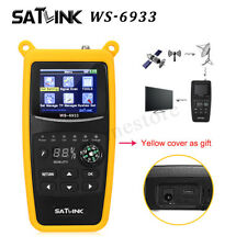 Satlink WS-6933 DVB-S2 FTA Digital Satellite Signal Finder Meter LCD  new