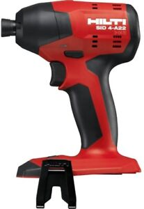 Hilti Impact Driver 1/4 in. Hex 22-Volt Lithium-Ion Brushless Cordless Tool Only