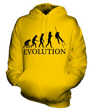 CANYONEERING EVOLUTION OF MAN UNISEX HOODIE MENS WOMENS LADIES GIFT CANYONING