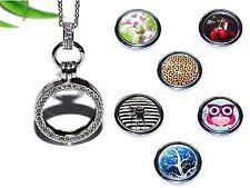 COIN MEDAILLON Kette Anhänger silber Halter Einleger Münze Halskette +++ AUSWAHL