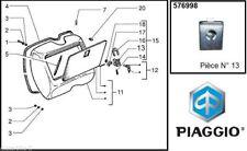 Serrure de coffre PIAGGIO Vespa PK XL 50 125 PX 80 125 150 200 (Pièce N° 13 )