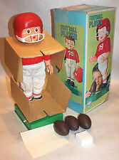 MIB Bandai mechanical Football Player Sears battery vintage COMPLETE w box parts