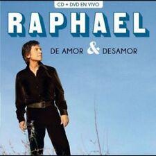 RAPHAEL - DE AMOR Y DESAMOR - CD+DVD [CD]