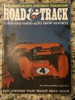 McLaren Can-Am: Road & Track magazine Feb. 1968 - Bruce McLaren cover