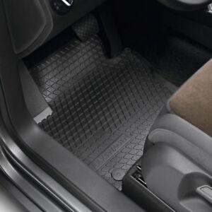 Original Volkswagen Satz Gummimatte vorn & hinten VW Tiguan schwarz NEU