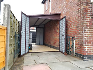 Lean To Extension Any Size Made to Measure House Storage Secure Garage 7x13ft