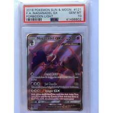 Naganadel GX 121/131 Full Art PSA 10 GEM Graded Pokemon Card (Forbidden Light)