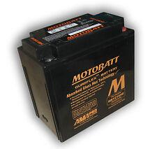Batería mejorada MBYZ16HD Motobatt = YUASA YTX14-BS; YTX14L-BS