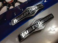 Genuine Harley Fatboy Skull Willie G Fuel Gas Tank Set Emblems Badges
