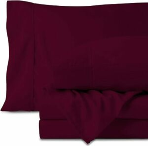 Egyptian Cotton Sheets Set - 700 Thread Count 100% Cotton King Size Sheets (4 Pi