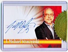 2002 Rittenhouse Babylon 5 Complete J. Michael Straczynski Autograph A1 /500 QTY