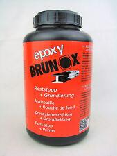 BRUNOX epoxy Rostsanierer + Grundierung Rostentferner Rostumwandler 1Liter