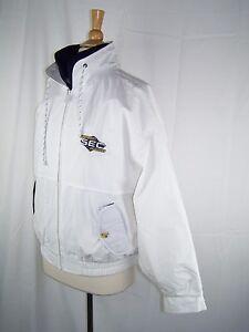 SEC Southeastern Conference White Gear for Sports Full Zip Jacket Men's Medium