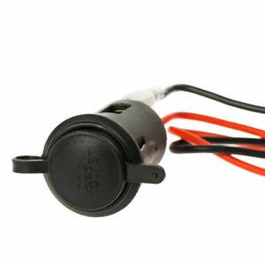 Auto KFZ Steckdose USB Ladegerät Buchse 12V Zigarettenanzünder Motorrad ta