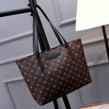 Women PU Leather Bag Ladies Shoulder Bag Tote Handbag Large Shopping Purse