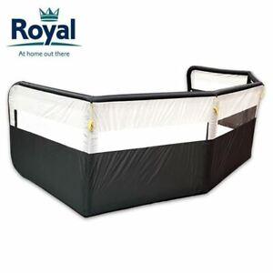 Royal Premium 5 Panel Air Windbreak With FREE Pump Inflatable Caravan Wind Break