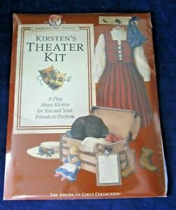 American Girls Pastimes Kirsten's Theater Kit Home Is Where the Heart Is Sealed