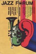 Pismo JAZZ FORUM nr 1 ( 8 ) październik 1968 ed. polska . !!!! Polish Jazz