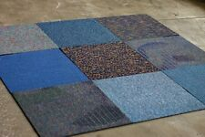 "Mix & Match Carpet Squares (Blue Family) 12 Tiles / Box 24"" x 24"" 48SF"