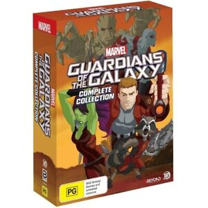 Guardians of the Galaxy the Complete Series (DVD Box-Set, 12-Disc) PAL Region 4