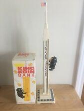 RARE 1960s LEADWORKS KING KONG KOIN COIN MECHANICAL MANHATTAN NEW YORK BANK