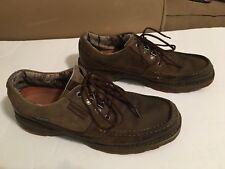 Merrell Mens Oiled Nubuck Kangaroo Casual Hiking Shoes 13 Brown Pre-owned