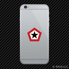 Indonesian Air Force Roundel Cell Phone Sticker Mobile TNI–AU Indonesia IDN ID