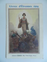 Catalogue livres d'étrennes 1904 en vente à la librairie Sorbet