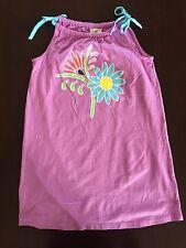 Hanna Andersson girls 130 7 8 9 10 multi color sleeveless dress
