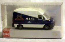 """Busch 47383: Peugeot Boxer """"Maes Pils"""", Fertigmodell in 1/87, NEU & OVP"""