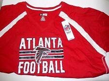 NFL Atlanta Falcons Short Sleeve Raglan Tee, 2XL