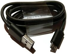Genuine Data cable Nokia CA-185CD microUSB, Black, p/n 0730448