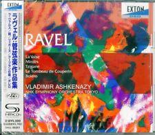 VLADIMIR ASHKENAZY-RAVEL: ORCHESTRAL WORKS-JAPAN 2 SHM-CD L50