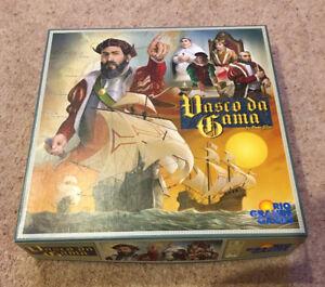 Vasco Da Gama By Paolo Mori Board Game Very Good Condition Rare Collectible