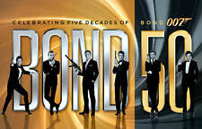 Bond 50: Celebrating Five Decades of Bond 007 (Blu-ray Disc, 2013, 23-Disc Set,…
