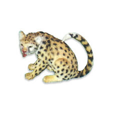 Aaa 96562Sit Cheetah Sitting Wild Animal Toy Model Figurine Replica - Nip