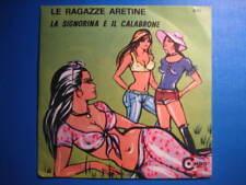 """SEXY COVER & TRASH-7"""" CARTOON COVER-Le ragazze aretine"""